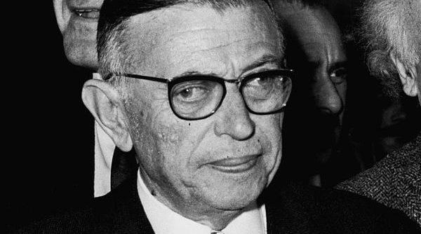 Foto de Jean-Paul Sartre